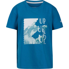 Regatta Bosley III T-Shirt Kids petrol blue